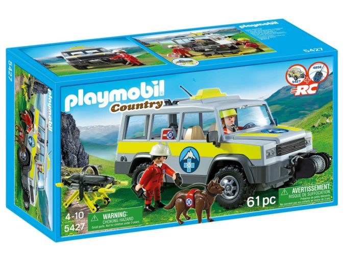 Playmobil EInsatzfahrzeug Bergrettung