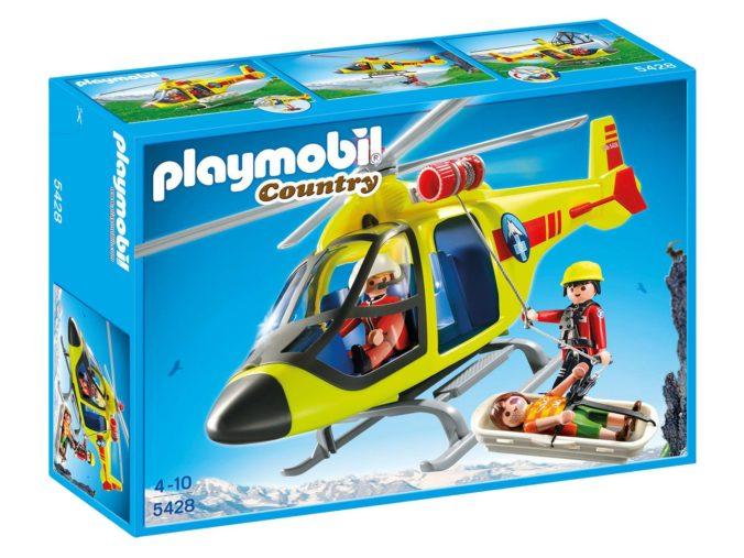 Playmobil Hubschrauber Bergrettung