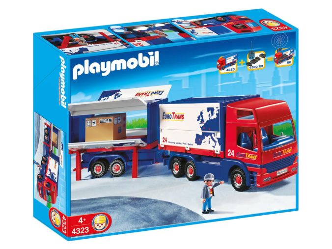 Playmobil Truck mit Anhänger