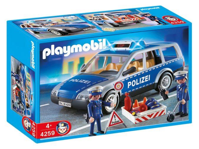 Playmobilset Polizei