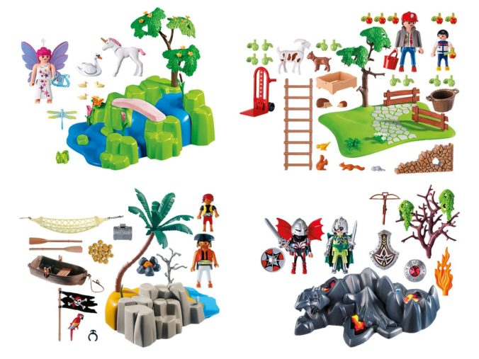 Verschiedene Spielesets von Playmobil