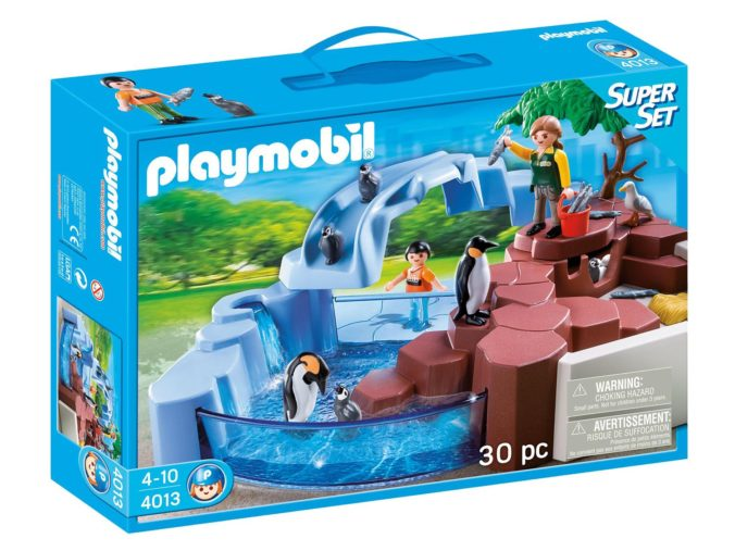 Playmobil Pinguinbecken