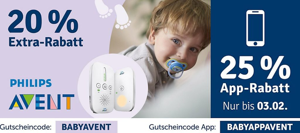 Philips Avent Aktion