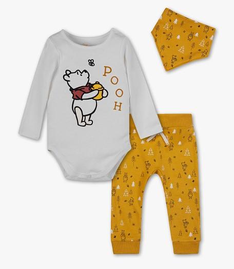 3-teiliges Bekleidungsset für Kinder mit Winnie Pooh Print