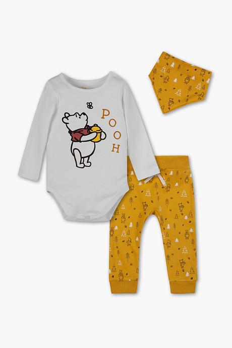 3-teiliges Bekleidungsset mit Winnie Pooh Print