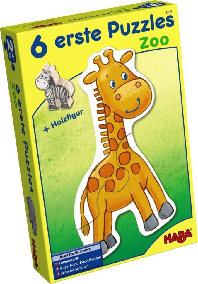 Haba Erste Puzzles Zoo für Kinder