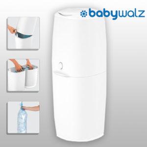 Für 9,99€ Angelcare Windeleimer bei babywalz