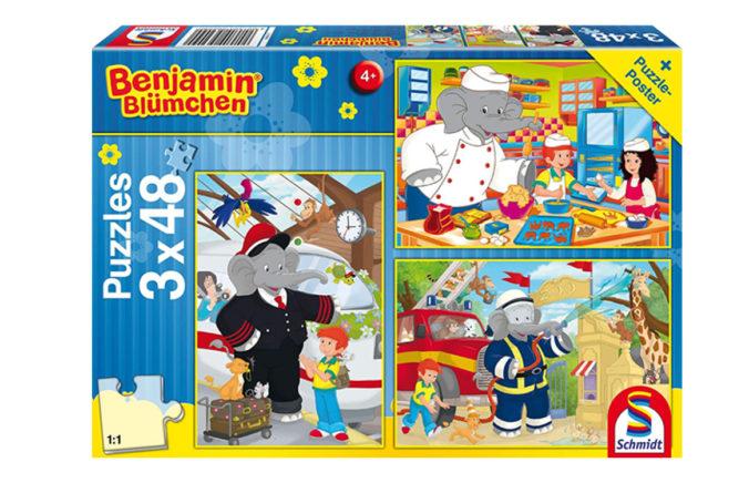 Benjamin Blümchen Puzzle