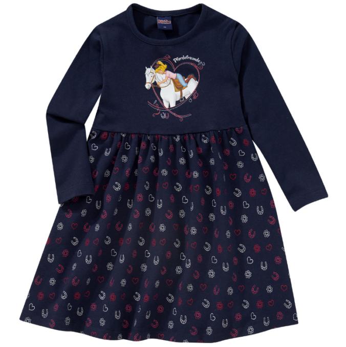 Kleid für Mädchen und Bibi und Tina Print