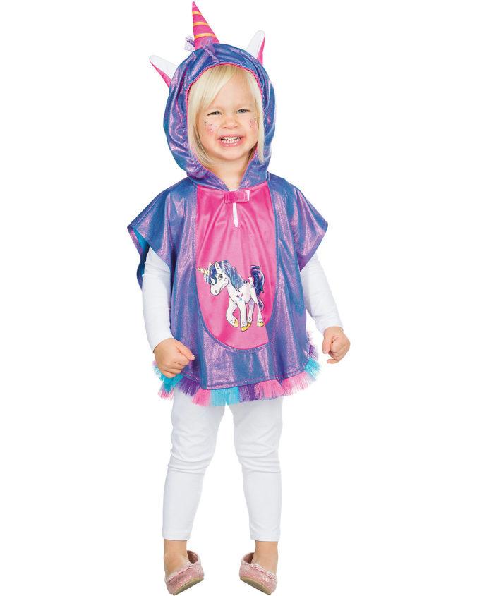 Kostüm Kleinkind Einhorn Cape