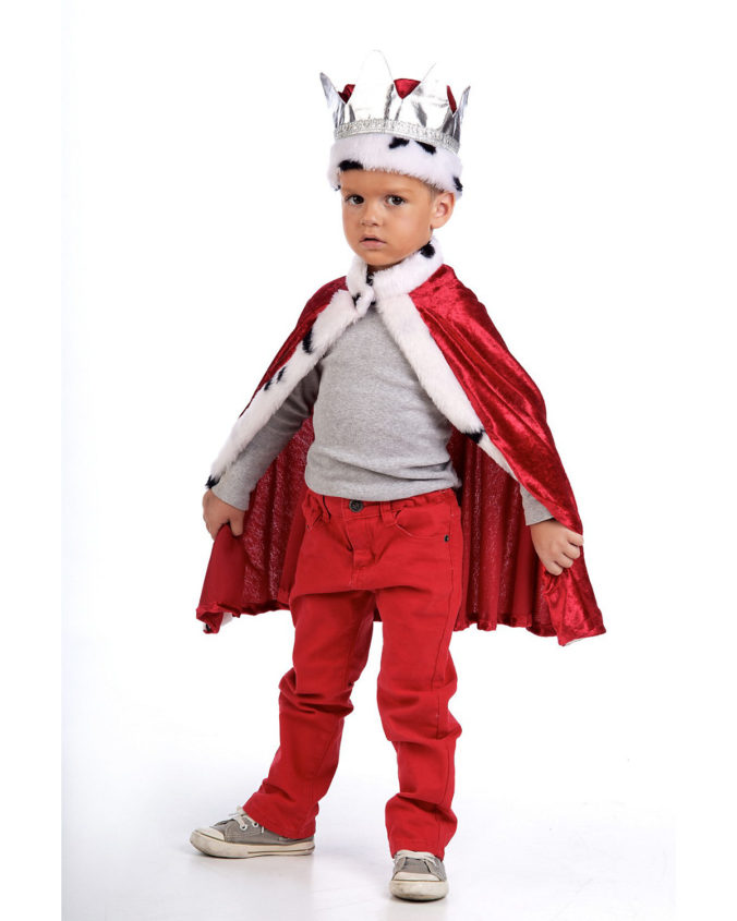 Kostüm Cape Kleinkind König