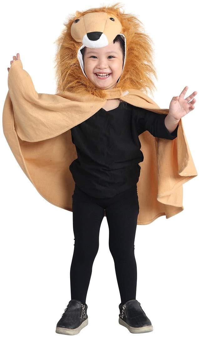 Kostüm Cape Löwe für Kinder