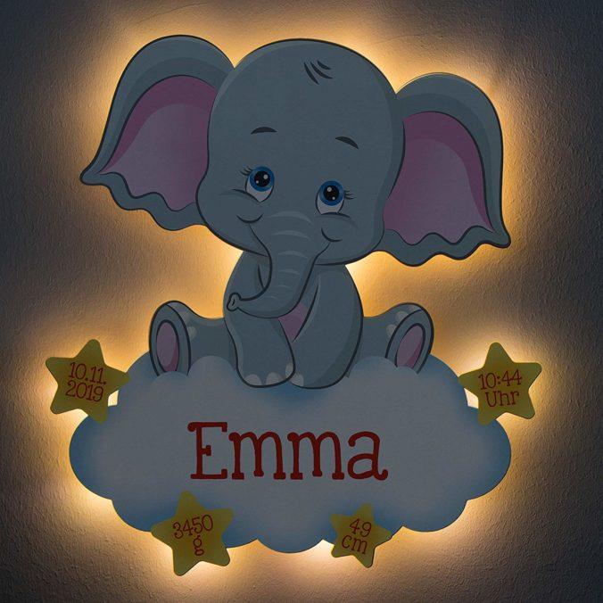 Elefant Nachtlicht