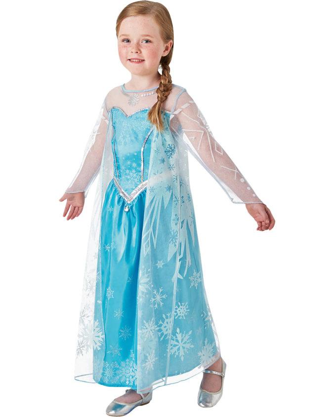 Kinderkostüm Elsa aus Die Eiskönigin