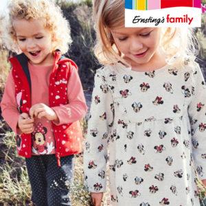 Ernsting's Family: Neue Feuerwehrmann Sam und Disney-Mode ab 3,99€