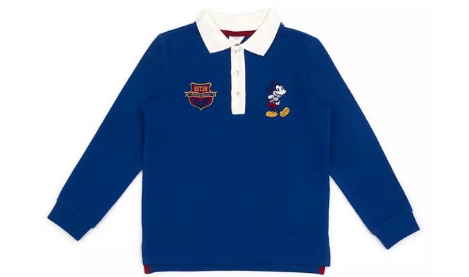 Micky Maus - Langarm-Poloshirt