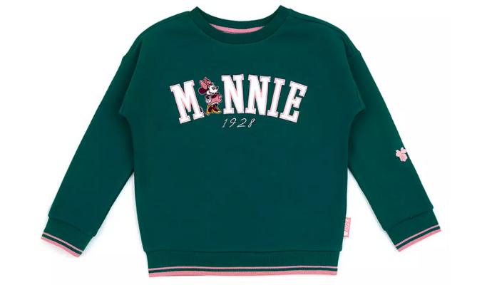 Minnie Maus - Grünes Sweatshirt