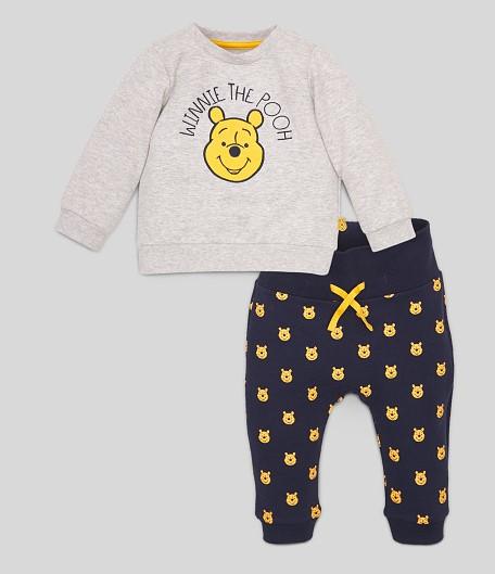 Jogginghose und Pullover mit Winnie Pooh Motiv für Kinder