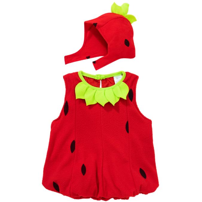Kinderkostüm Erdbeere