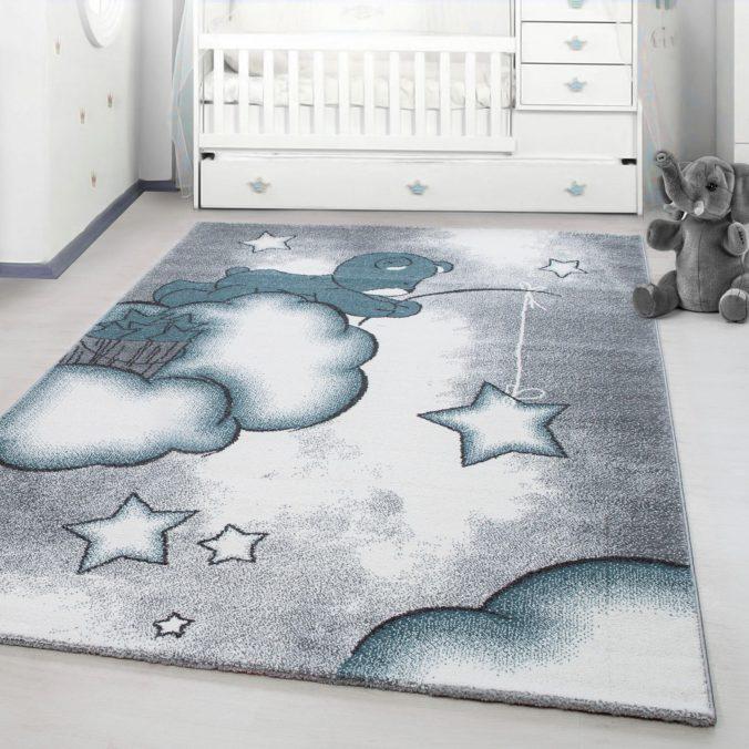 Kinderzimmerteppich mit Bärchendesign