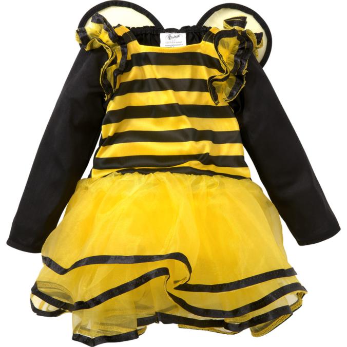 Kinderkostüm Biene mit Flügeln