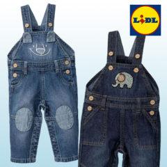 LIDL Latzhosen aus Jeans