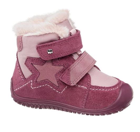 Brombeerfarbene Schuhe für Mädchen