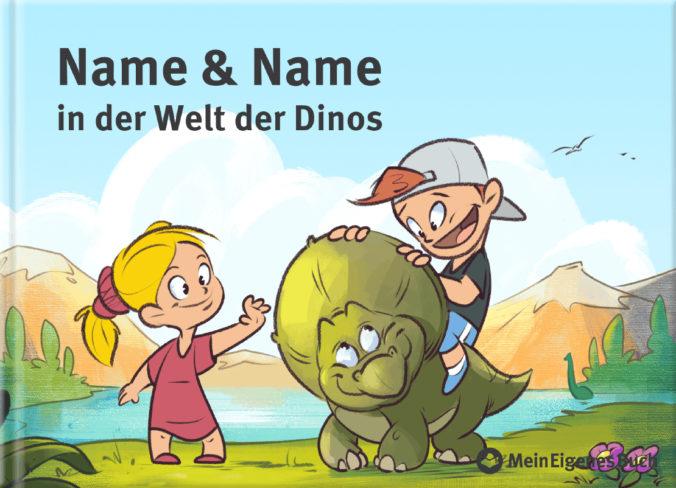 personalisierbares Dinobuch von MeinEigenesBuch