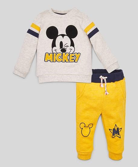 Pullover und Jogginghose für Kinder mit Micky Mouse Motiv
