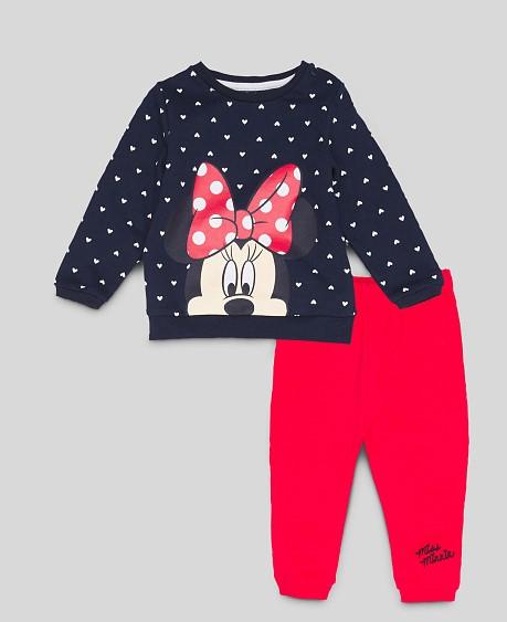 Hose und Pullover mit Minnie Mouse Print für Kinder