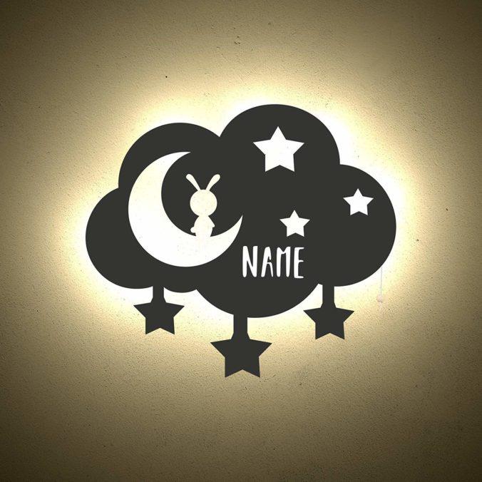 Nachtlicht mit Namen