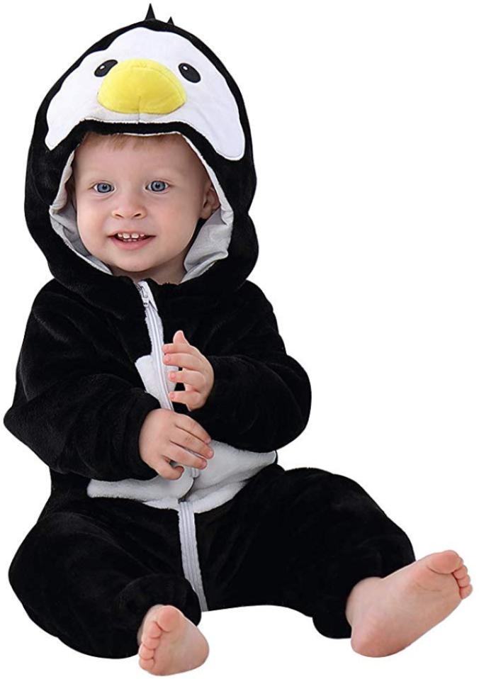 Kleinkindkostüm Pinguin