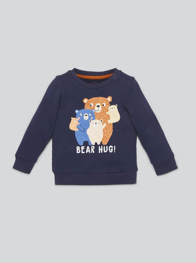 Kinderpullover mit Bärenprint