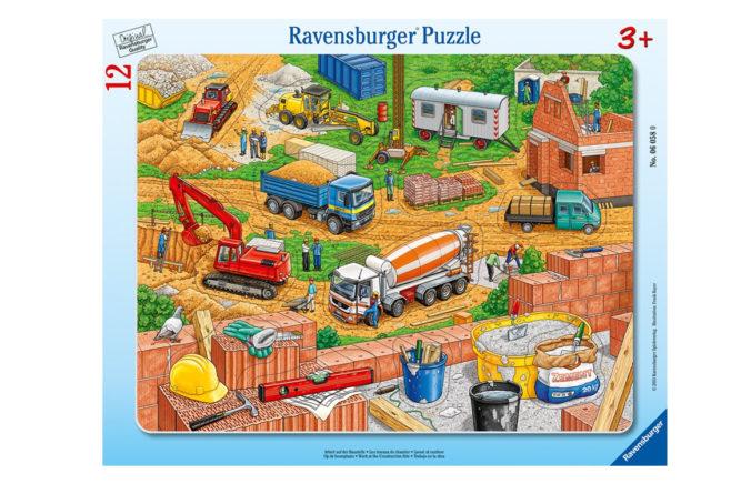 Ravensburger Puzzle für Kinder Arbeit auf der Baustelle