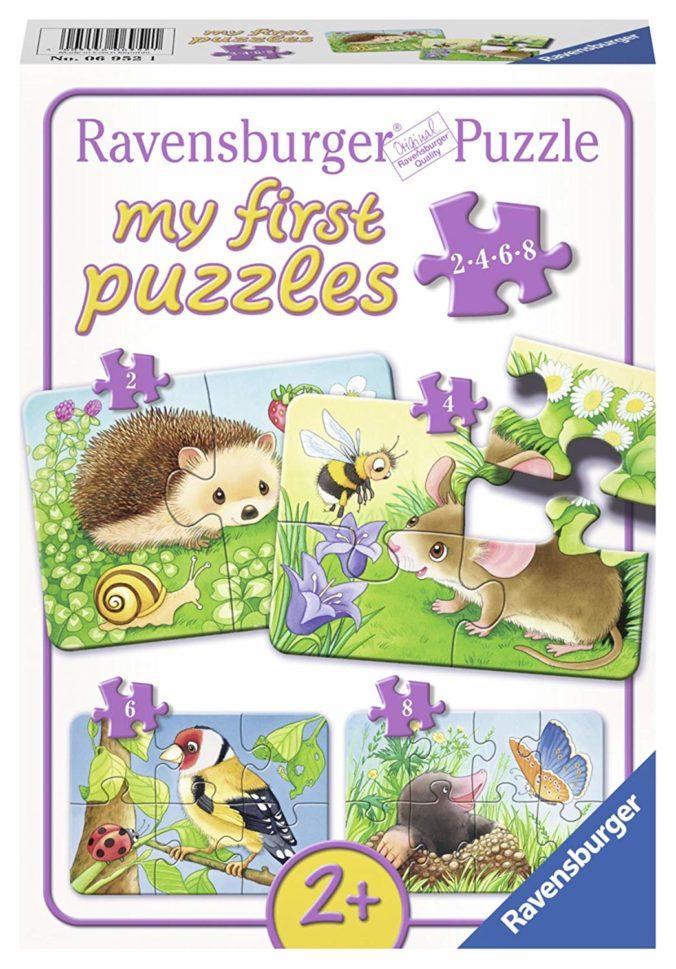 Ravensburger Puzzle Süße Gartenbewohner für Kinder