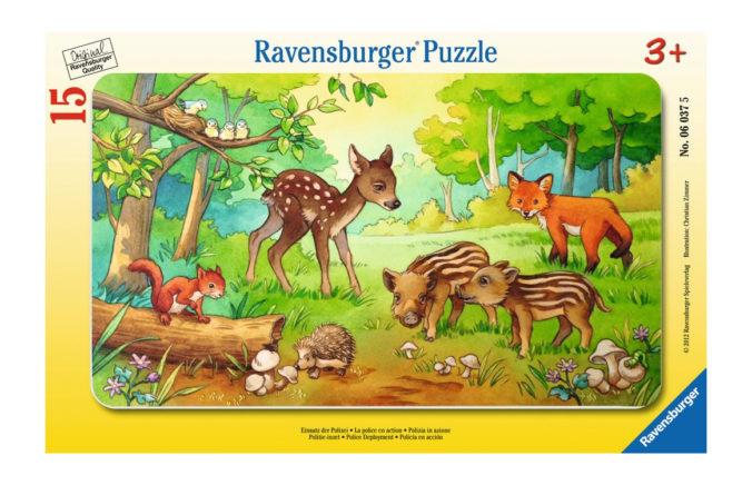 Ravensburger Puzzle Tierkinder des Waldes