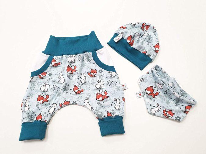 Kleidungsset für Babys mit Fuchs-Motiv