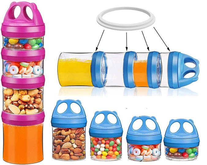Snackbox Stapelbar
