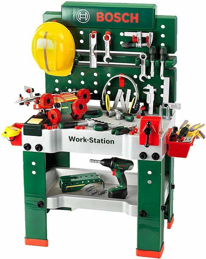 Spielzeug Werkbank für Kinder von Bosch