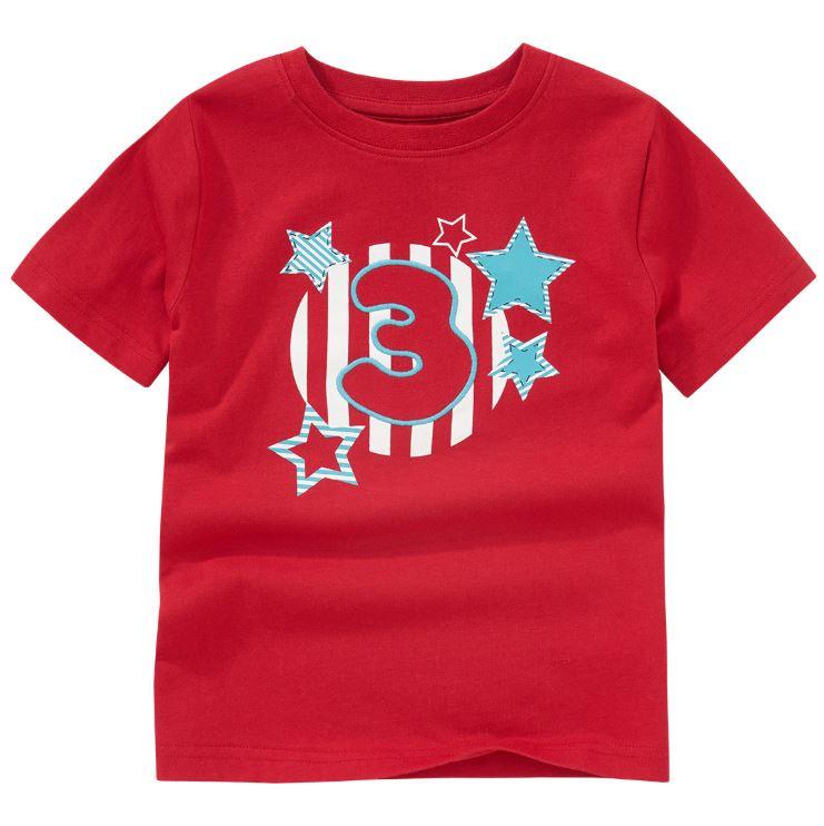 Shirt mit Nummer 3