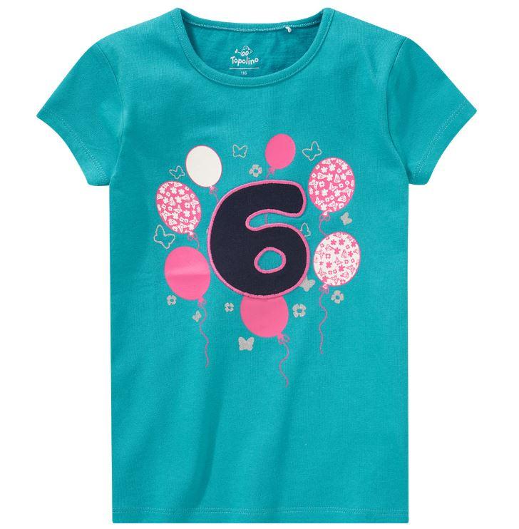 Shirt mit Nummer 6