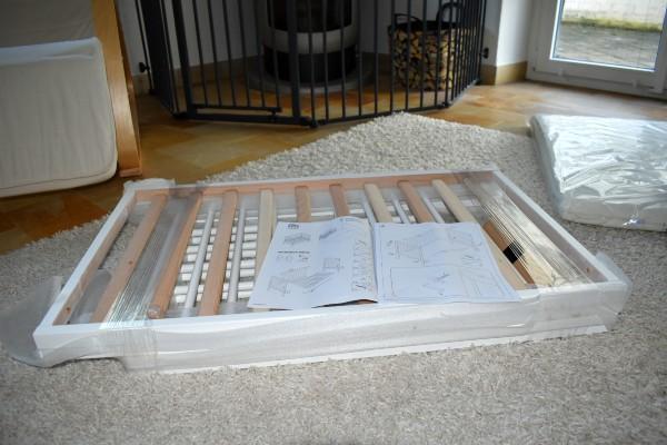 FabiMax 2567 Beistellbett BASIC Aufbau