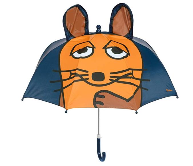 3D Sendung mit der Maus Regenschirm für Kinder