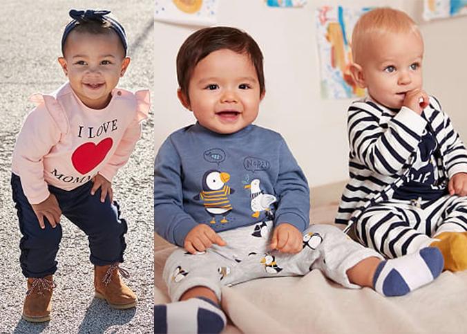 Babysets für Jungs und Mädchen