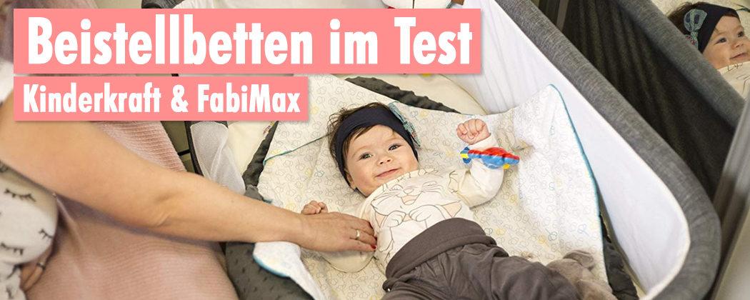 Banner: Beistellbetten im Vergleich – FabiMax vs. Kinderkraft