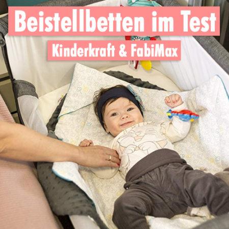 Baby in Beistellbett