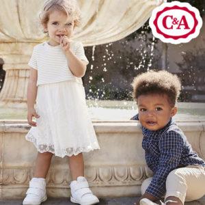 Ab 12,99€ festliche Babyoutfits bei C&A