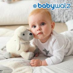 Baby mit Schäfchen Spieluhr