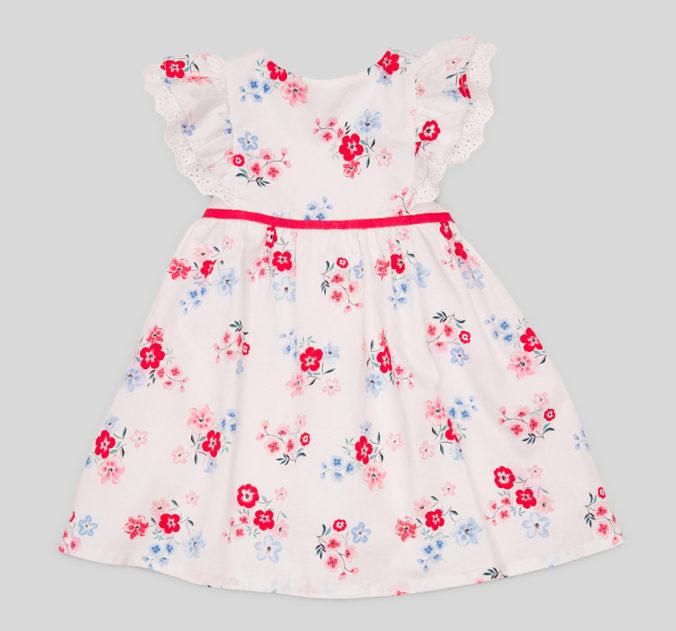 Bluemchenkleid für Maedchen