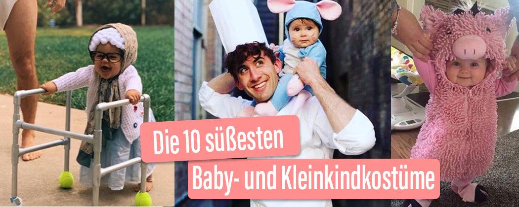 Banner: Die 10 süßesten Kostüme für Babys und Kleinkider